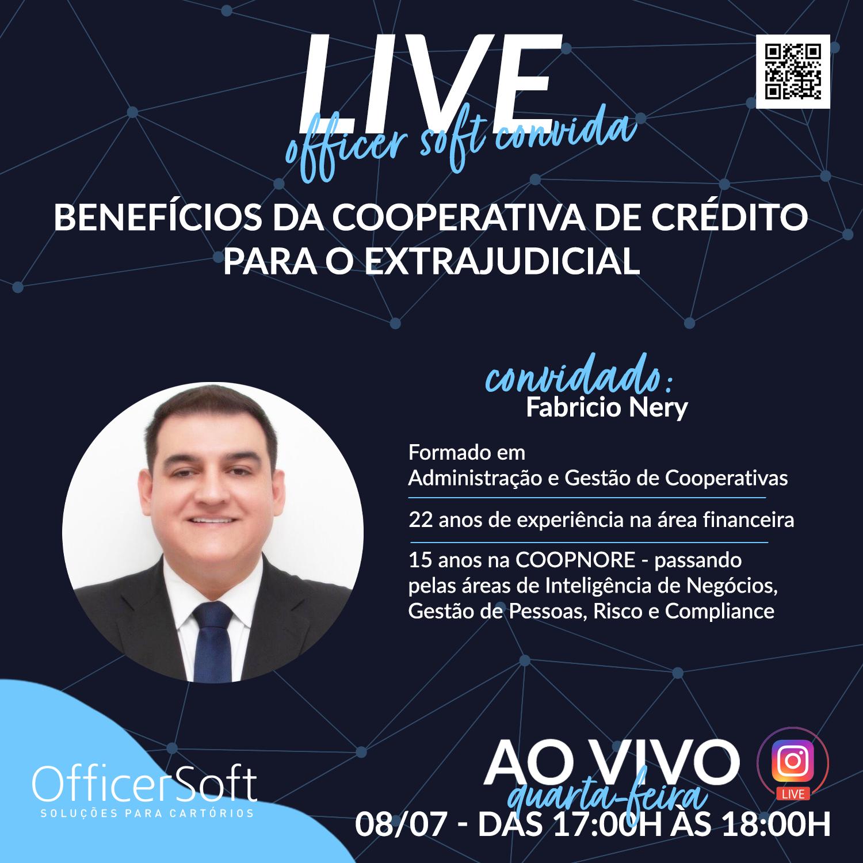 Officer Soft convida: Fabricio Nery