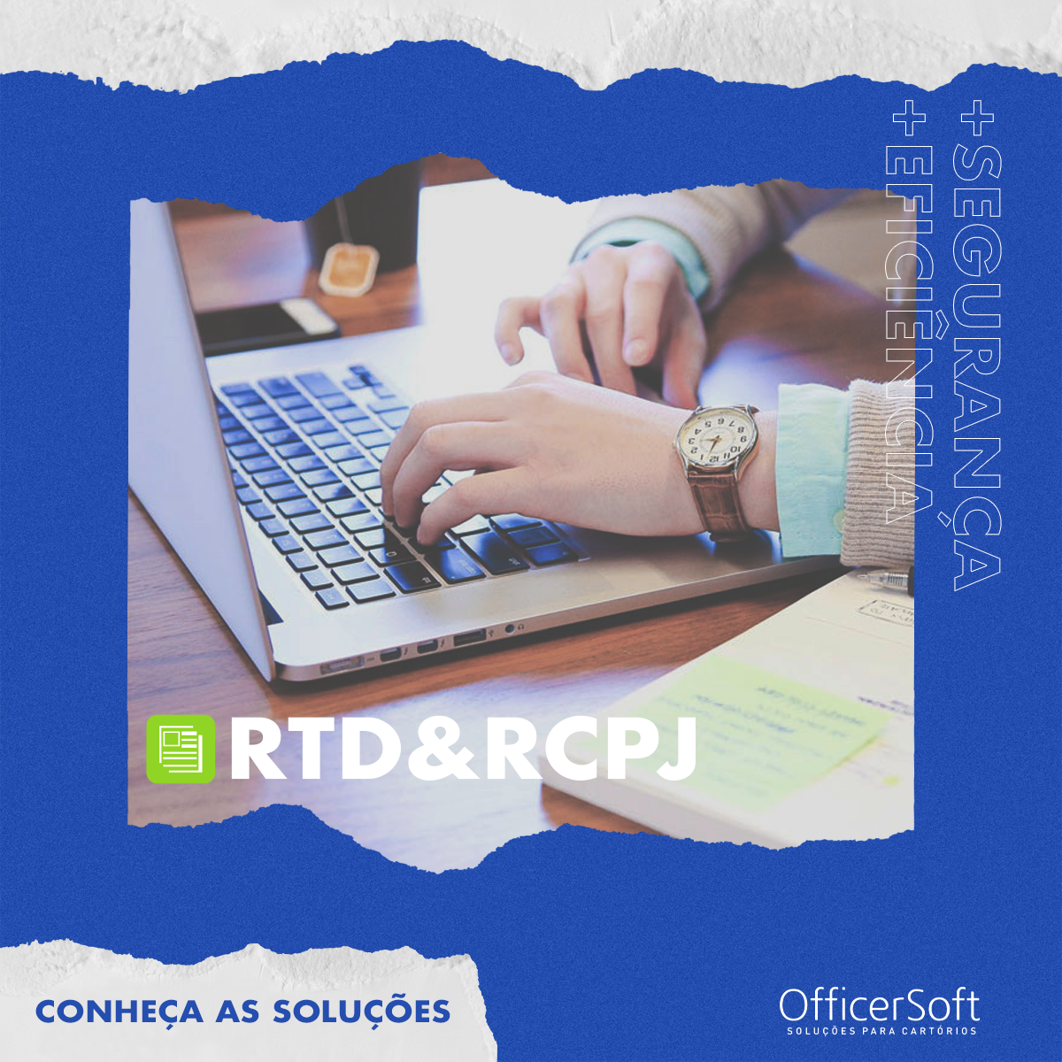 Conheça as Soluções – RTD&RCPJ