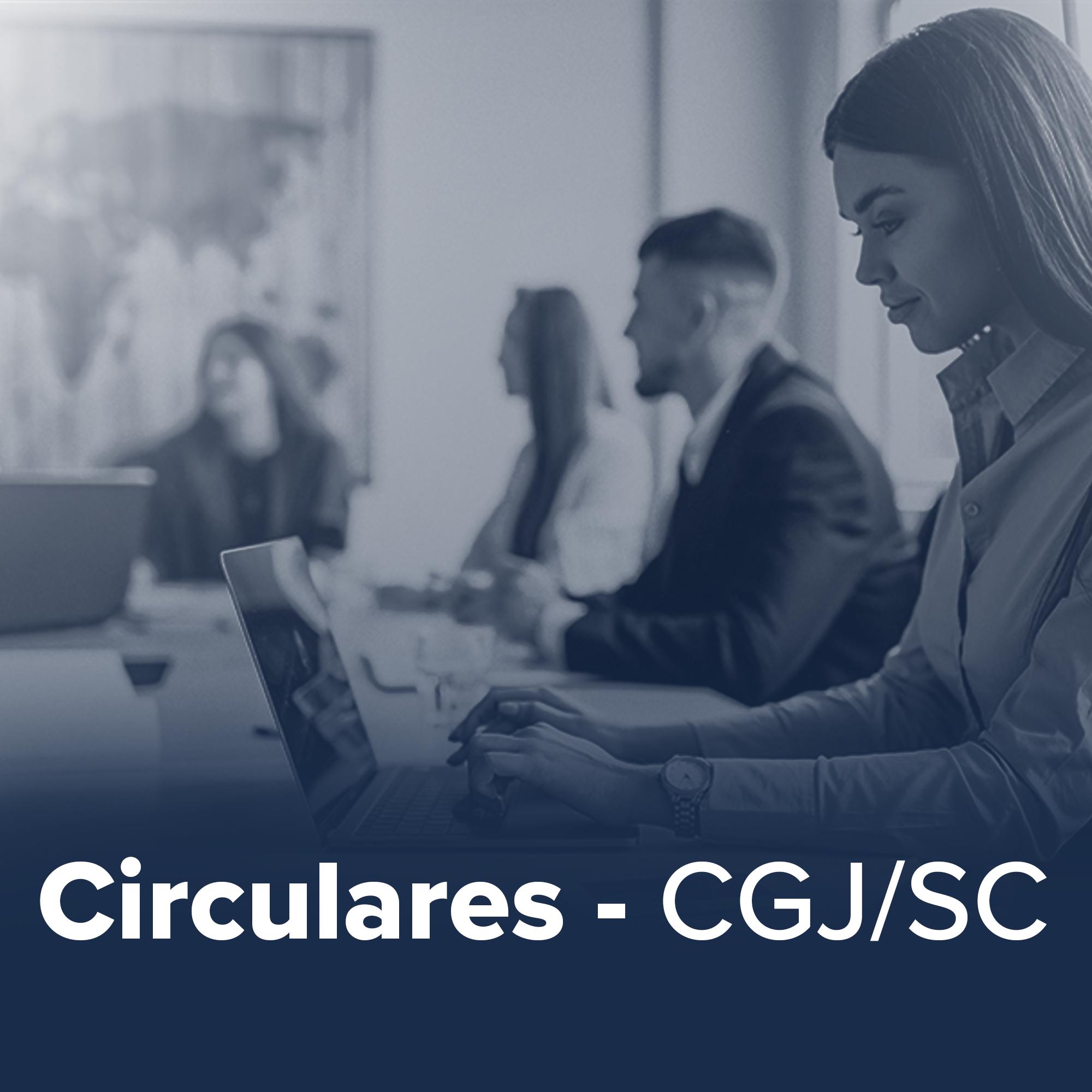 CIRCULARES MÊS DE JUNHO/2021 – CGJ/SC
