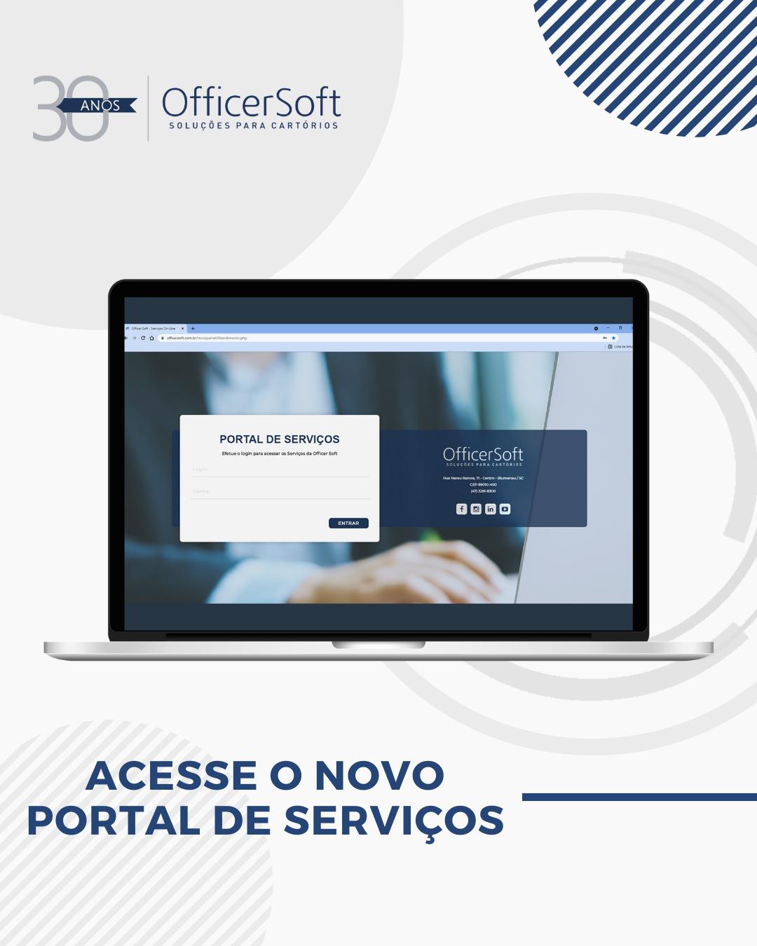 Novo Portal de Serviços